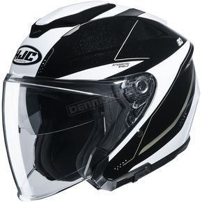 Black/White i30 Slight MC9 Helmet