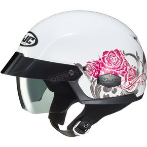 White/Pink/Gray IS-Cruiser Fior MC10 Helmet