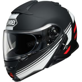 Black/White/Red Neotec II Separator TC-5 Helmet