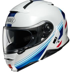 White/Blue/Red Neotec II Separator TC-10 Helmet