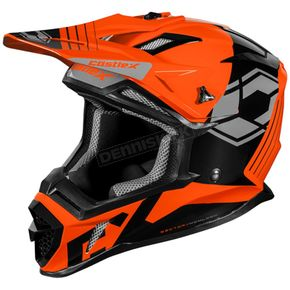 Flo Orange CX200 Sector Helmet - 35-5154