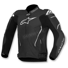 Alpinestars Black ATEM Leather Jacket - 3106515-10-52