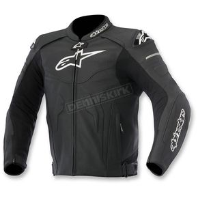 Alpinestars Black Celer Leather Jacket - 3105015-10-58