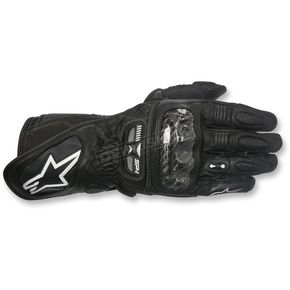 Alpinestars Women's Black Stella SP-1 Leather Gloves - 3518115-10-XS