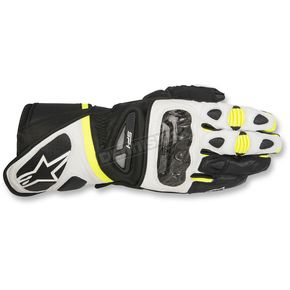 Alpinestars Black/White/Yellow SP-1 Gloves - 3558115-125-3X