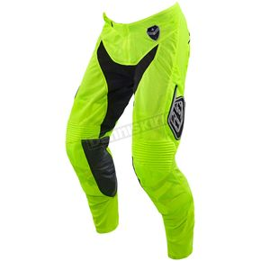 Troy Lee Designs Youth Fluorescent Yellow/Black Starburst GP Air Pants - 206013525