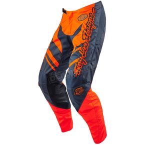 Troy Lee Designs Youth Orange/Gray Flexion GP Vert Pants - 209015724