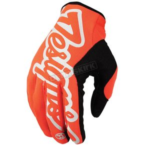 Troy Lee Designs Fluorescent Orange/Black Pro Gloves - 401003703
