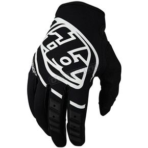 Troy Lee Designs Youth Black/White GP Gloves - 409003202