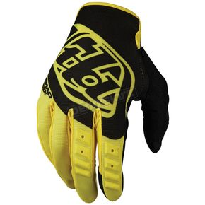 Troy Lee Designs Yellow/Black GP Gloves - 407003503