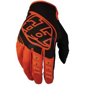 Troy Lee Designs Youth Orange/Black GP Gloves - 409003705