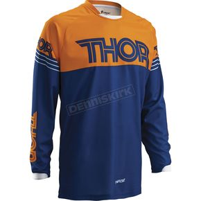 Thor Navy/Orange Phase Hyperion Jersey - 2910-3503