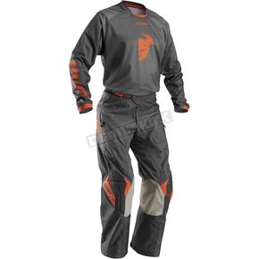 Thor Charcoal/Orange Phase Off Road Grey Out Jersey - 2910-3570