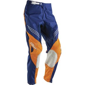 Thor Youth Navy/Orange Phase Hyperion Pants - 2903-1303