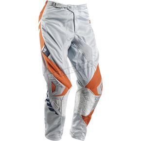 Thor Youth Gray/Orange Phase Vented Doppler Pants - 2903-1352