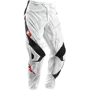 Thor Youth Phase White/Black Vented Doppler Pants - 2903-1358