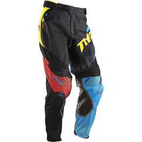 Thor Black/Multi Core Air Divide Pants - 2901-5214