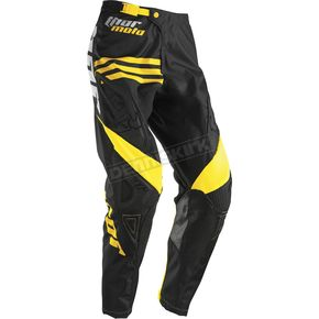 Thor Black/Yellow Phase Strands Pants - 2901-5281
