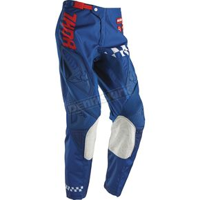 Thor Navy/Red Phase Ramble Pants - 2901-5326
