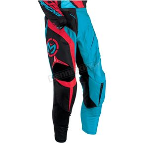 Moose Cyan/Red M1 Pants - 2901-5462