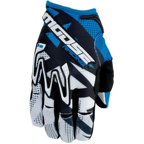 Moose Blue MX1 Gloves - 3330-3279