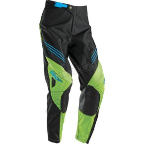Thor Youth Black/Green Phase Hyperion Pants - 2903-1387