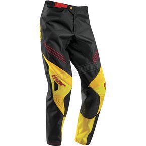 Thor Youth Black/Golden Yellow Phase Hyperion Pants - 2903-1394