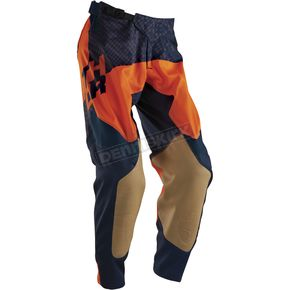 Thor Navy/Flo Orange Prime Tach Pants - 2901-5656