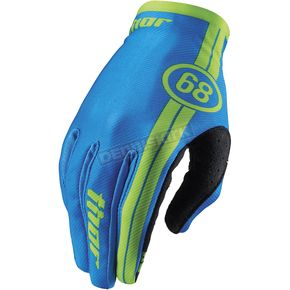 Thor Course Blue Void Gloves - 3330-3420