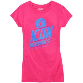 Icon Women's Pink Charged T-Shirt - 3031-2502