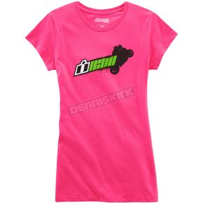 Icon Women's Pink Balance Point T-Shirt - 3031-2511