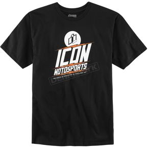 Icon Black Charged T-Shirt - 3030-11898