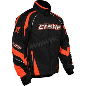 Castle X Flo Orange Charge G2B Jacket - 70-9364