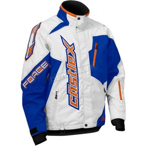 Castle X Blue/White/Orange Force Jacket - 70-9524