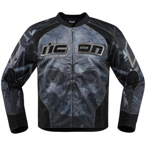 Icon Black Overlord Reaver Jacket - 2820-3494
