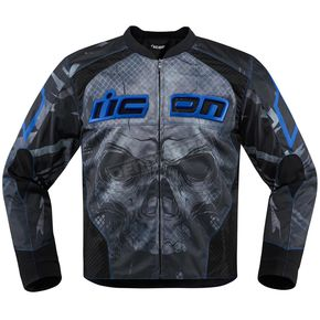 Icon Blue Overlord Reaver Jacket - 2820-3503