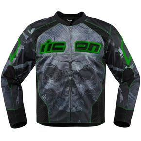 Icon Green Overlord Reaver Jacket - 2820-3508