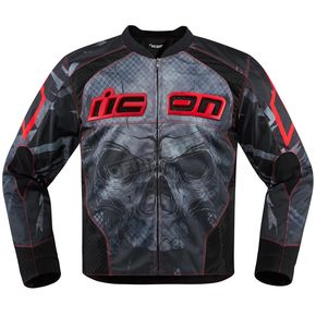 Icon Red Overlord Reaver Jacket - 2820-3513