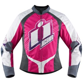 Icon Women's Pink Overlord Sweet Dreams Jacket - 2822-0815
