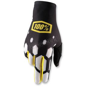 100% Legacy Black Celium Gloves - 10005-141-12