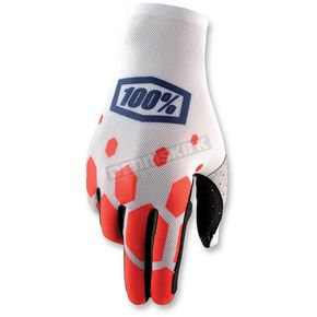 100% Legacy Red Celium Gloves - 10005-143-12