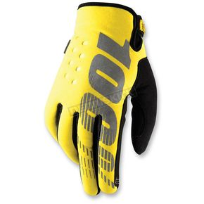 Yellow Brisker Gloves