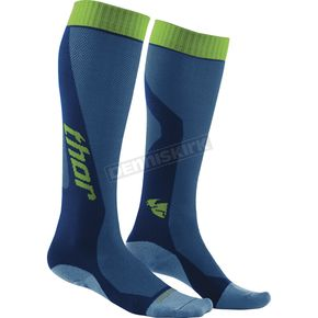 Thor Blue/Green MX Cool Socks - 3431-0272