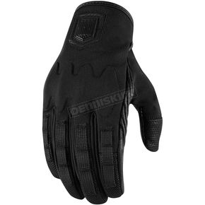 Icon 1000 Black Forestall Gloves - 3301-2625
