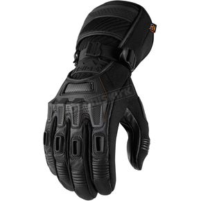 Icon - Raiden Black Alcan Gloves - 3301-2640