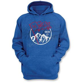 HMK Blue Flag Pullover Hoody - HM2HDYFLABLX
