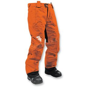 HMK Women's Orange Dakota Pants - HM7PDAKOXL
