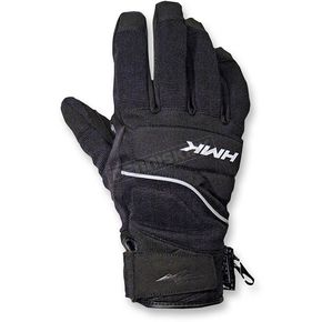 HMK Black Hustler Gloves - HM7GHUSBMD
