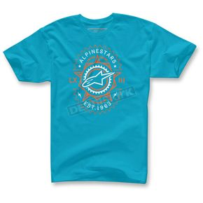 Alpinestars Turquoise Ratio T-Shirt  - 103572024-76-M