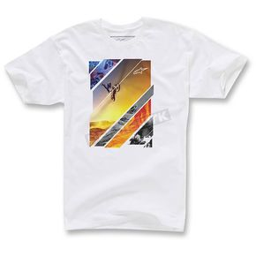 Alpinestars White Solaris T-Shirt - 103572021-020-M